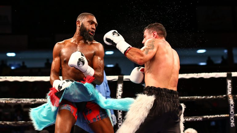 Boots Ennis can't wait to get back into the ring Saturday night on Showtime