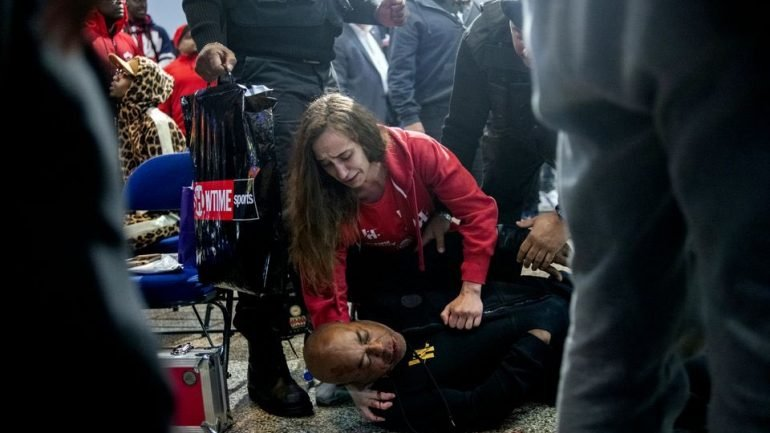 Claressa Shields vs. Ivana Habazin canceled after trainer James Bashir is assaulted at weigh-in