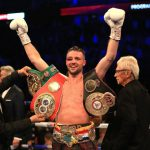Josh Taylor with Ring IBF and WBA titles Photo by Stephen Pond Getty Images 150x150 - The Ring Magazine Ratings Reviewed: Junior Welterweight