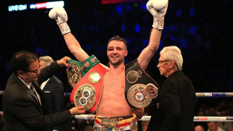 Pound-for-pound reshuffle sees Josh Taylor debut in mythical rankings
