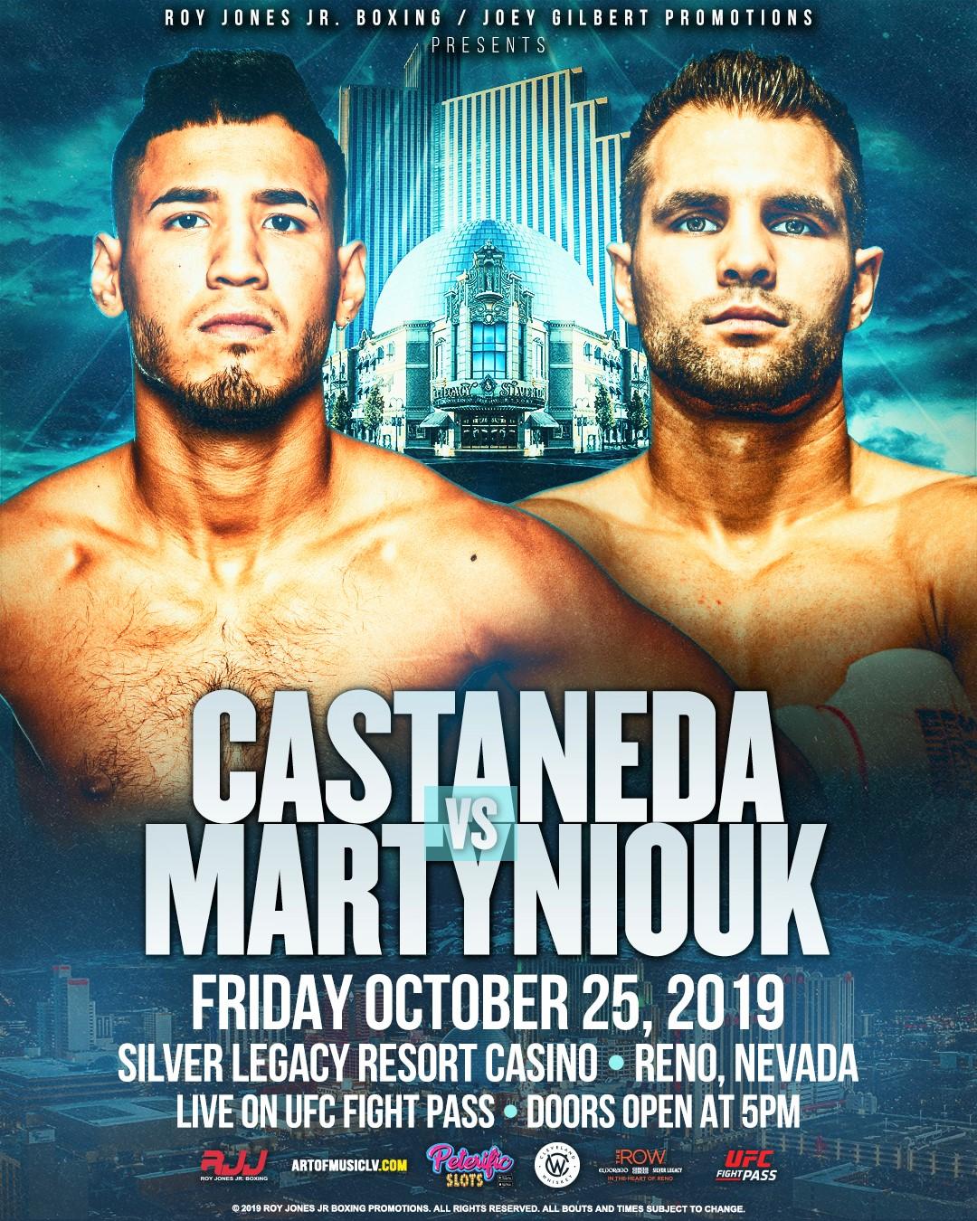 Kendo Castaneda vs. Stan Martyniouk poster - New Faces: Kendo Castaneda