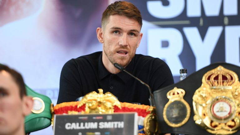 Callum Smith to target Canelo, GGG and rival titleholders if he passes mandatory test against John Ryder