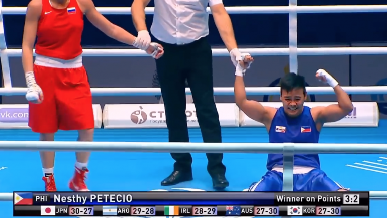 Nesthy Petecio rebounds from college slump, wins gold at World Championships