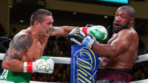 Usyk Witherspoon Matchroom 300x169 - Dougie's Friday Mailbag (Usyk-Chisora, Inoue-Moloney, heavyweights in action)