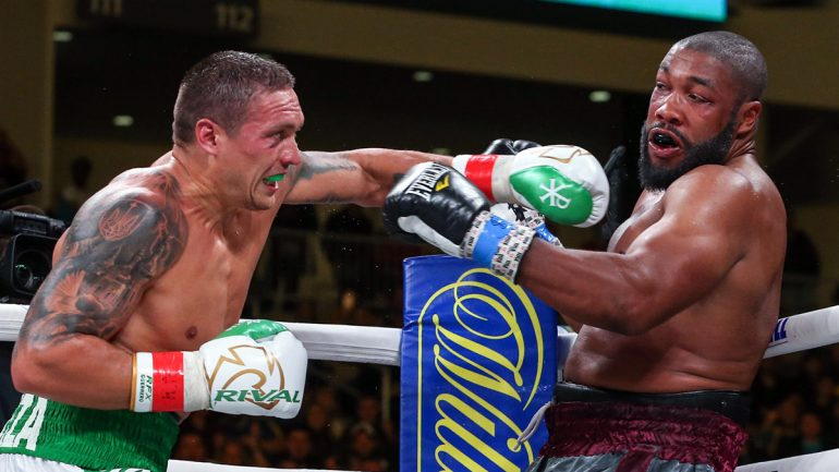 Dougie's Monday mailbag (Usyk at heavyweight, Warrington and the featherweights, Patrick Day)
