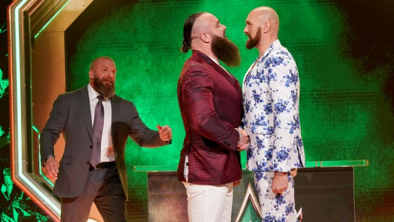 In WWE move, Tyson Fury blurs lines ahead of match with Braun Strowman