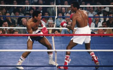 Sugar Ray Leonard-Wilfred Benitez turns 40