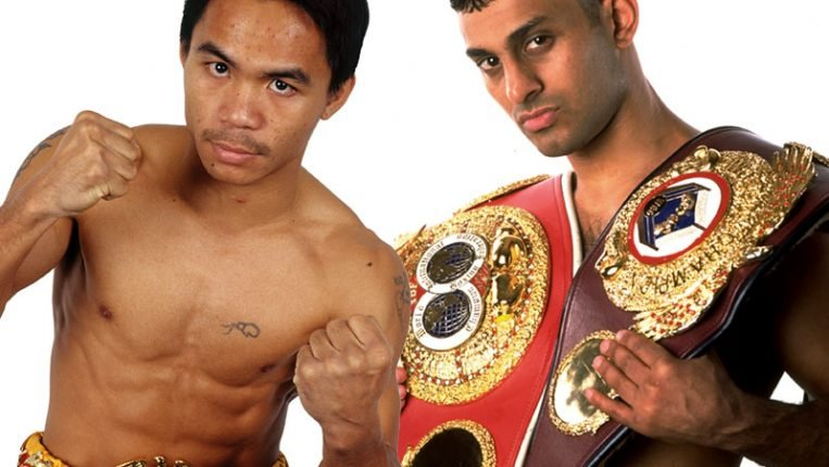 Pacman and the Prince Two power-punching superstars clash in a mythical matchup for the ages