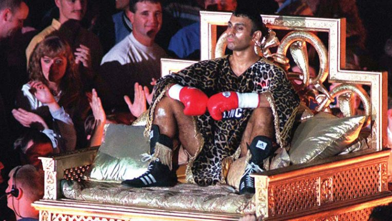 Ringside The prince who would be king By Naseem Hamed