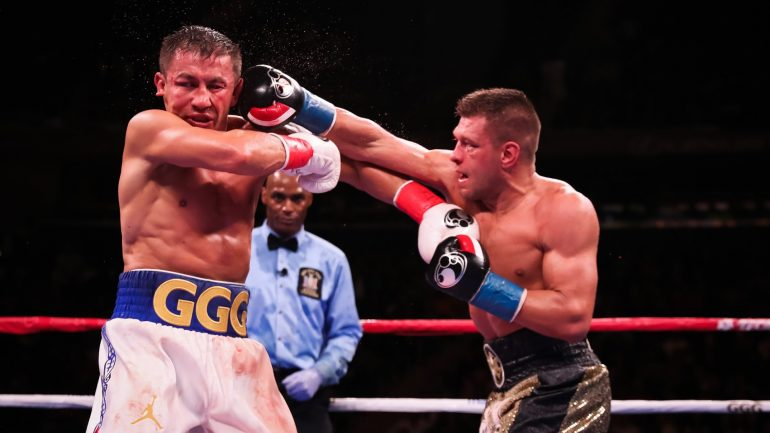Andre Rozier: Derevyanchenko beat Golovkin 7 rounds to 5