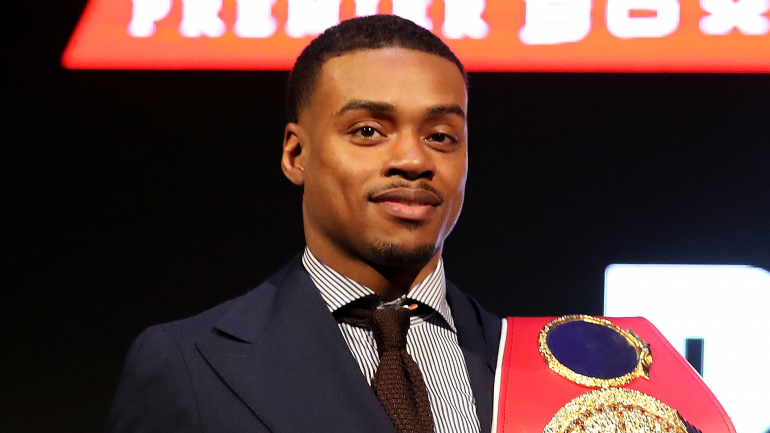 Errol Spence says he's already returned to training, wants Pacquiao or Danny Garcia next