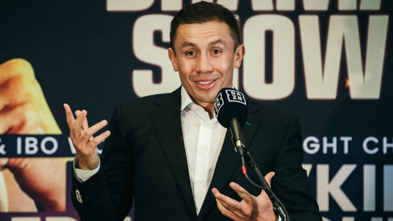 Watch: Gennadiy Golovkin says he's still as strong and powerful as he was 5 years ago