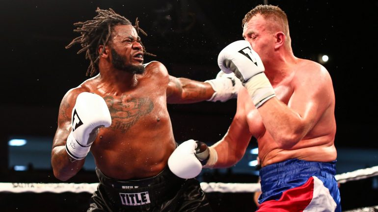 """Jermaine Franklin gives himself a """"B"""" grade for win over Pavel Sour"""