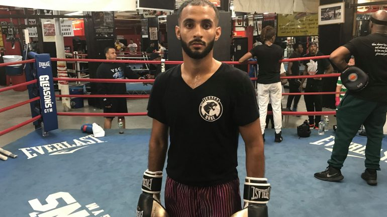 Brooklyn's Khalid Twaiti wants to be 'pure gold' in his pro career, too