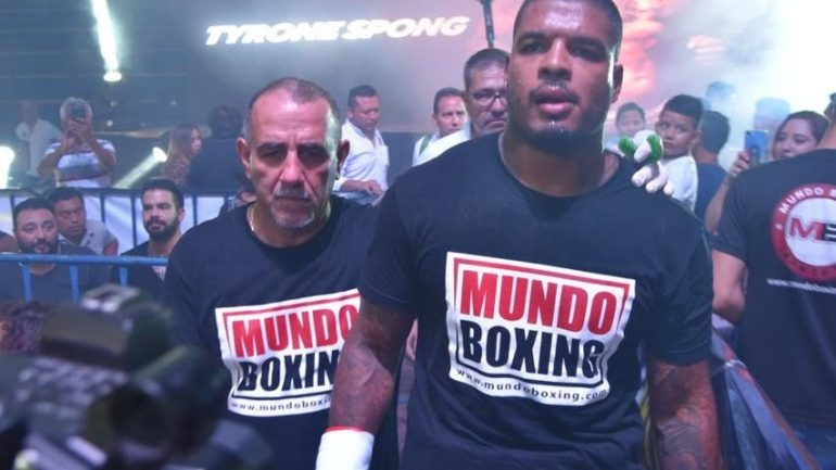 Tyrone Spong fails VADA test, fight with Usyk in jeopardy