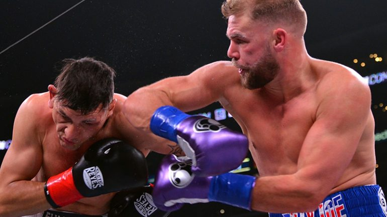 Billy Joe Saunders stops Marcelo Coceres in Round 11, retains WBO 168-pound title