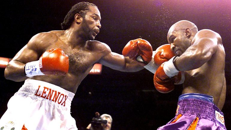 Lennox Lewis remembers Evander Holyfield rematch, two decades on from 'Undisputed'