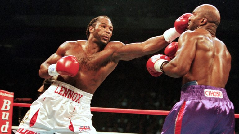 Lennox Lewis' Greatest Hits: Going the Distance