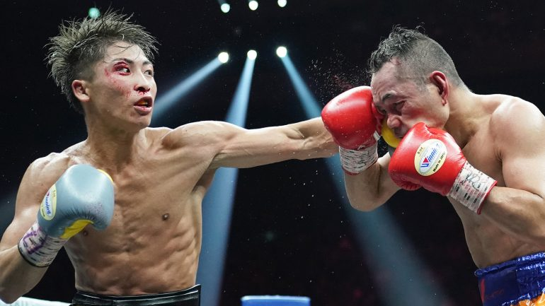 Naoya Inoue holds off Nonito Donaire for unanimous decision victory, claims Ali trophy in epic battle