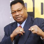 Larry Holmes 150x150 - Larry Holmes jabs Donald Trump after President flubs his name: We aren't friends