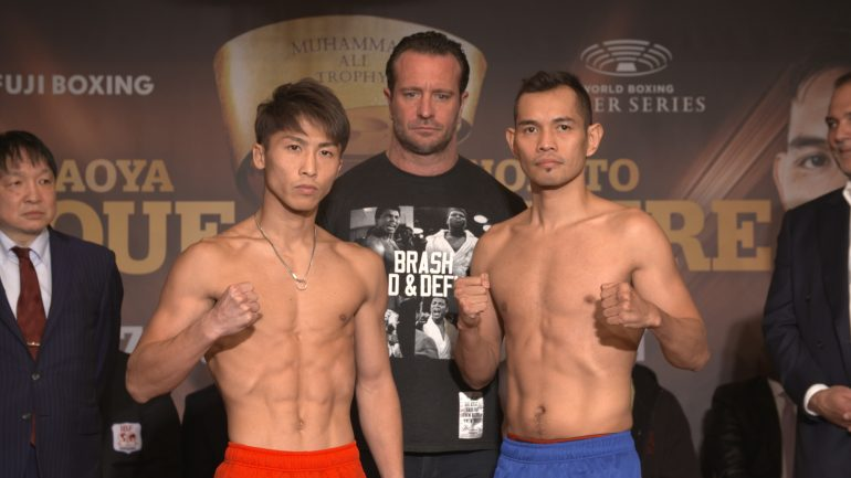 Weigh-in alert: Naoya Inoue 118 Nonito Donaire 117.5