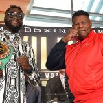 Wilder Ortiz 2 presser pose Feature crop 150x150 - Lennox Lewis' brilliant breakdown of Wilder-Ortiz II