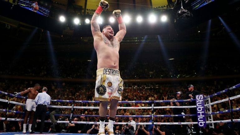 Manny Robles has confidence Andy Ruiz will show up against Anthony Joshua