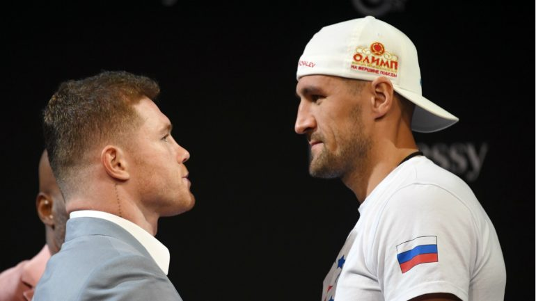 Sergey Kovalev: 'Taking me on is risky business for Canelo'