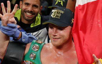 The Ring Magazine/WBA/WBC middleweight champion/WBO light heavyweight titlist Canelo Alvarez