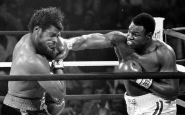 Guest editor Larry Holmes revisits his glory days