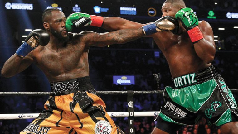 Risky Business The dangerous but vulnerable Deontay Wilder prepares to meet Luis Ortiz again