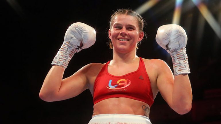Savannah Marshall-Hannah Rankin WBO 160-pound title bout added to Usyk-Chisora card