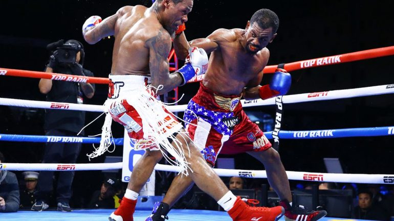 Jamel Herring assesses his performance after beating Lamont Roach