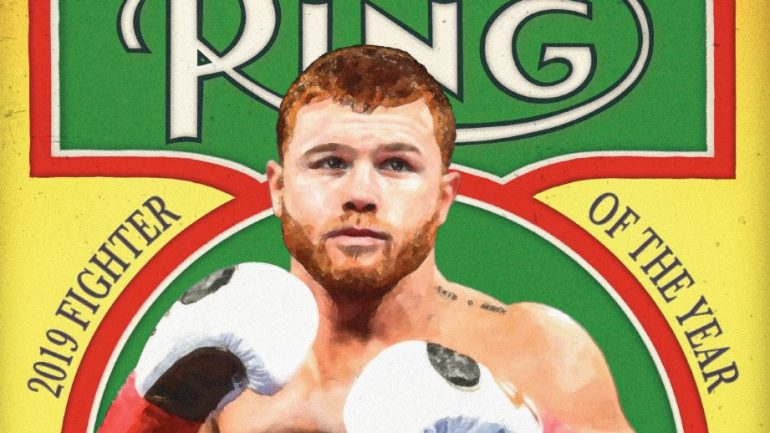 Canelo Alvarez named Ring Magazine Fighter of the Year 2019, All category winners revealed
