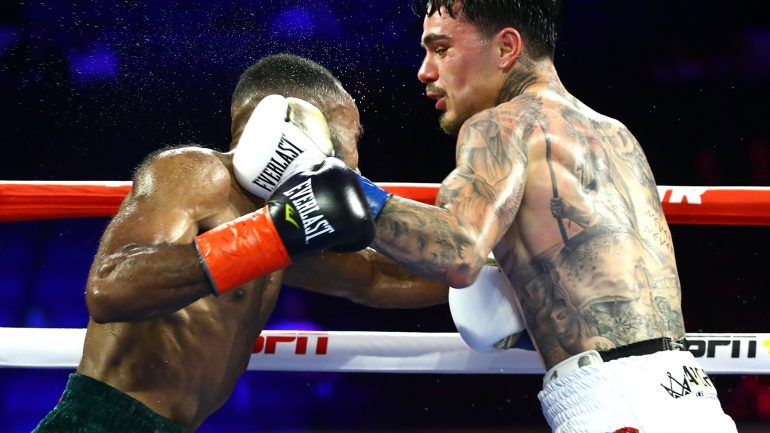 George Kambosos Jr. plans to put a scare into Lee Selby on Halloween