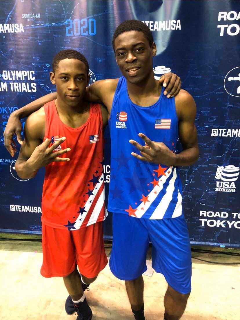 Keyshawn (left) and Kelvin Davis. Photo courtesy of Keyshawn Davis on Twitter