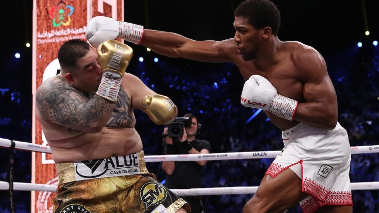 Anthony Joshua dominates Andy Ruiz for decision win, now a two-time heavyweight titleholder