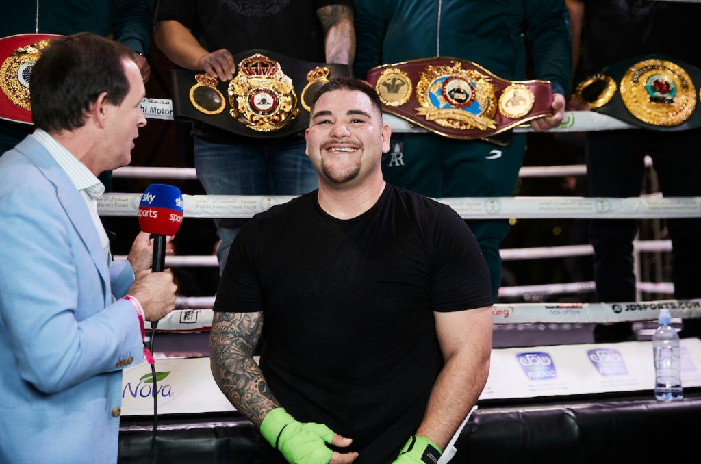 MDR14353 1024x678 - Andy Ruiz-Anthony Joshua 2: Workout photo gallery