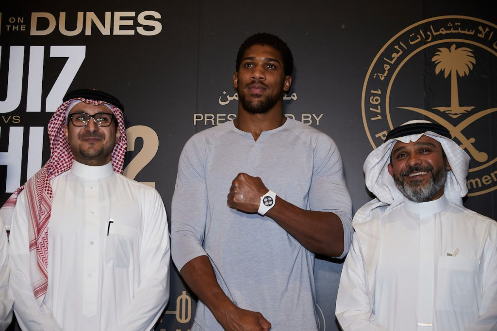 MDR26215 1024x683 - Press Release: Andy Ruiz and Anthony Joshua face the media at arrivals party