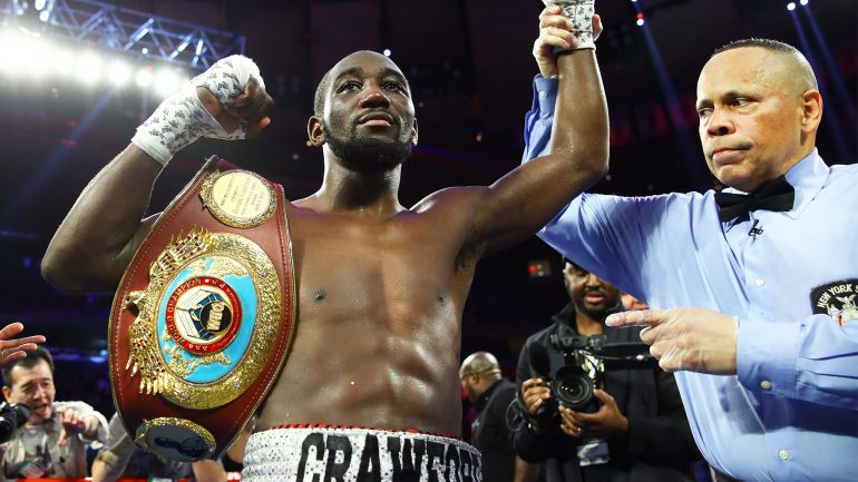 Terence Crawford's trainer, Brian McIntyre, says Shawn Porter clash is 'good for boxing'