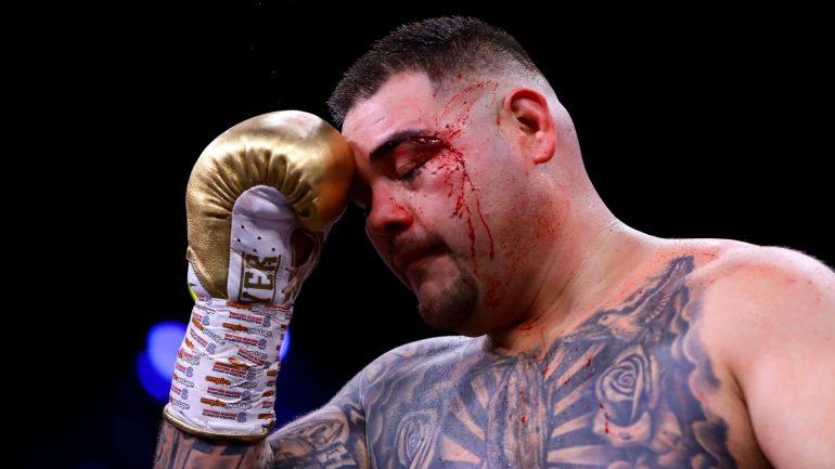 Andy Ruiz Jr. admits he gained too much weight in loss to Anthony Joshua: 'I didn't prepare how I should have'