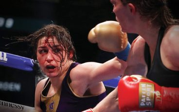 Katie Taylor wanted a fight, Delfine Persoon brought it