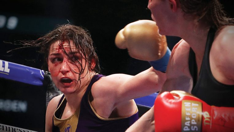 Battle-tested Katie Taylor wanted a fight, Delfine Persoon brought it By Thomas Gerbasi