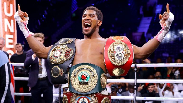 Anthony Joshua remains humble after victory in rematch with Andy Ruiz Jr.