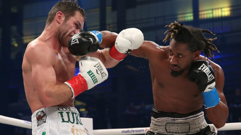 Demetrius Andrade drops overmatched Luke Keeler twice, wins by ninth round TKO