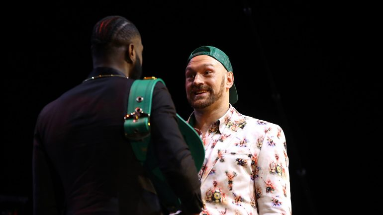 Tyson Fury: 'I'm going to make Deontay Wilder say 'no mas' in front of the world'