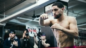 Former two-division titlist Danny Garcia