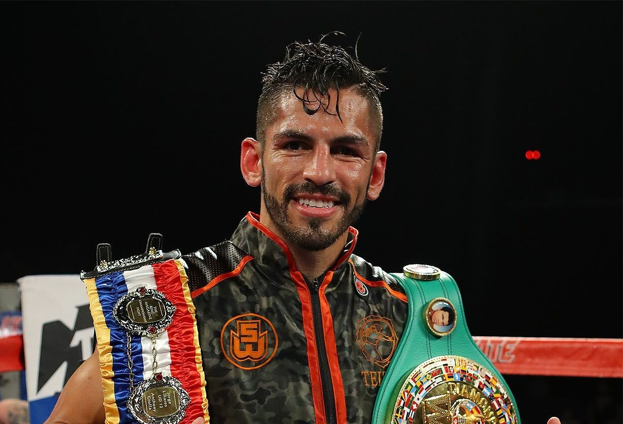 Jorge Linares. Photo courtesy of Golden Boy Promotions