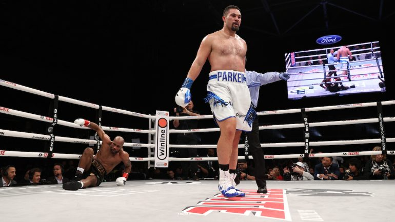 Joseph Parker KOs Shawndell Winters in 5 rounds to win third straight