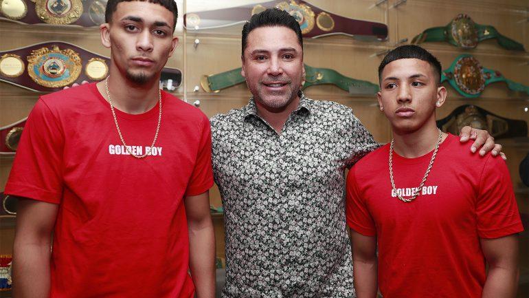 Hawaiian amateur standouts Asa Stevens, Dalis Kaleiopu sign with Golden Boy